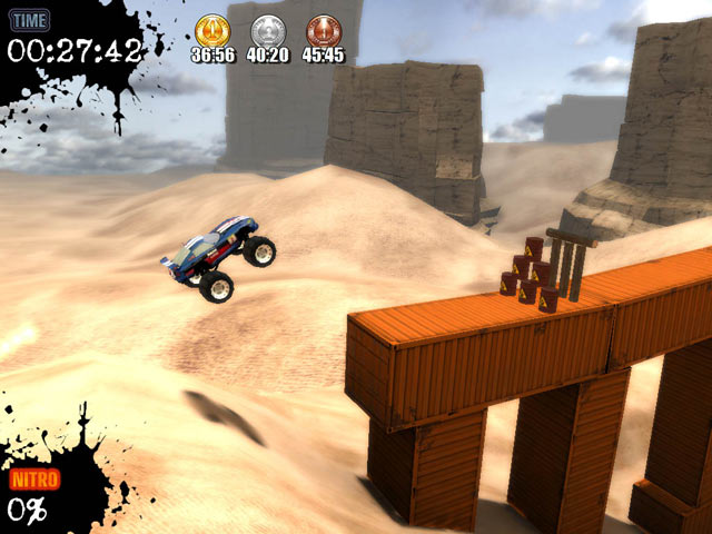 Monster truck challenge pc screenshot 1.